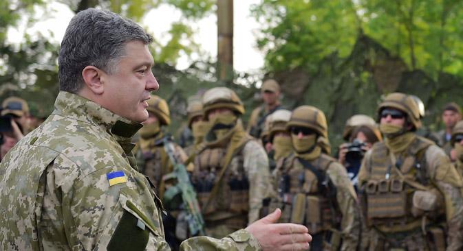 ウクライナ南東部での軍による激しい作戦が止まなければ、義勇軍はいかなる対話のテーブルにもつかないだろう。=タス通信