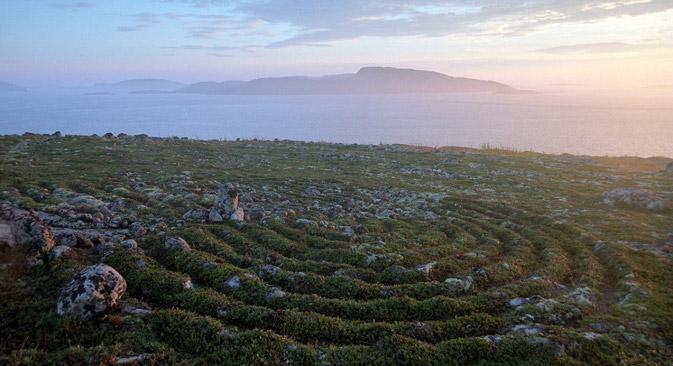 大ソロヴェツキー島の迷路=Geo Photo