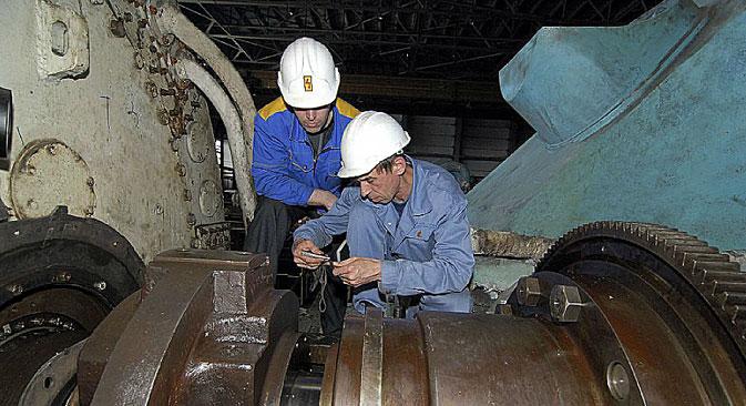 サハリン国営地域発電所=写真提供:RAO東エネルギー・システム