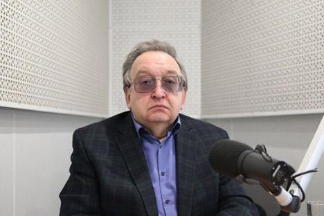 アレクサンドル・パノフ元駐日ロシア大使=写真提供:ロシアの声