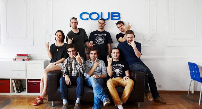 「Coub」のチーム=写真提供:Coub.com