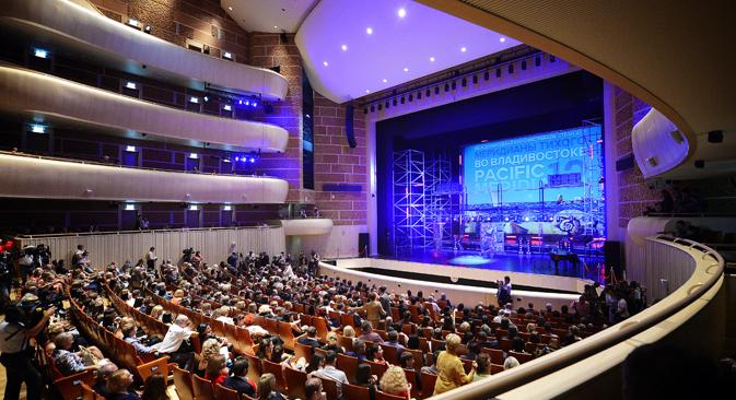 「太平洋子午線」映画祭の閉会式 / タス通信