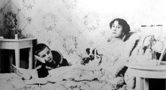 クシェシンスカヤは100歳近くまで生きた。=Getty Images撮影