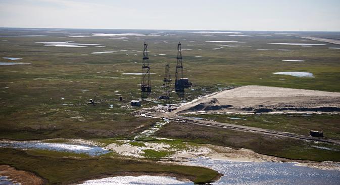 ノバテクはヤマル工場の液化天然ガス生産量の5%を販売することを決定した。=Press Photo