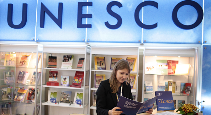 Die Unesco muss ihr Moskauer Büro schließen. Foto: Ruslan Kriwobok/RIA Novosti