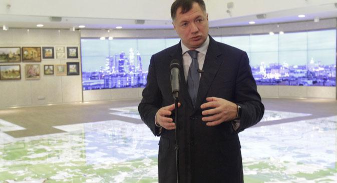 マラト・フスヌリン・モスクワ副市長=写真提供:モスクワ通信