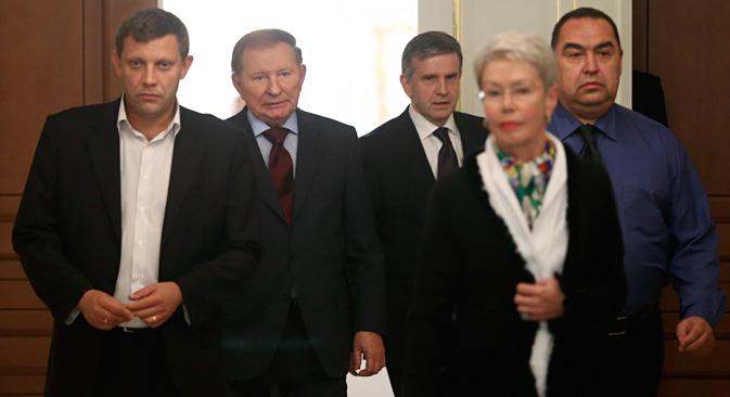 一部専門家は、ミンスク合意の崩壊が即破局であるとは考えていない。=ロイター通信