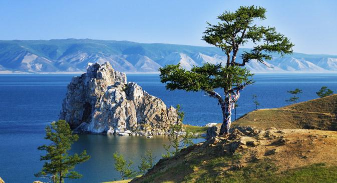 バイカル湖=Shutterstock/Legion-Media撮影