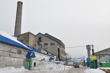 サハリン州ユジノサハリンスク市、菓子工場=