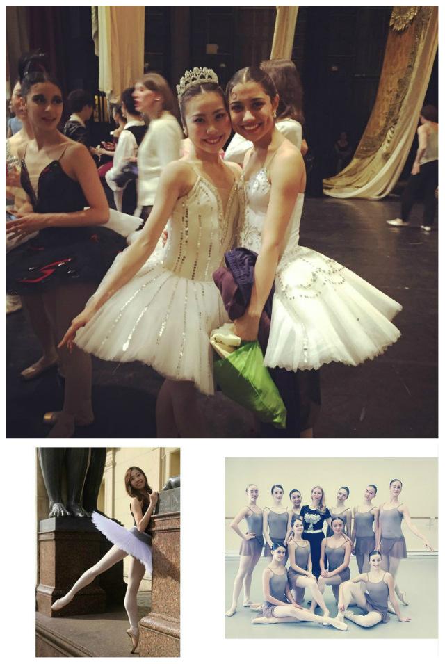 @maochka これまでの数年間に、多くの才能に満ちた日本人ダンサーがロシアに留学し、ダンサーとしての職を得た。日本人バレリーナは現在ペトロザヴォーツク、チェリャビンスク、ウファ、サマラやその他のロシアのバレエ劇場で活躍している。こちらは藤室真央のインスタグラムで、彼女はまだワガノワ・バレエアカデミーに留学中だが、もしかすると次のオデット / オディリアとして、マリインスキーやボリショイ劇場で踊っている姿を目にする日が来るかもしれない。