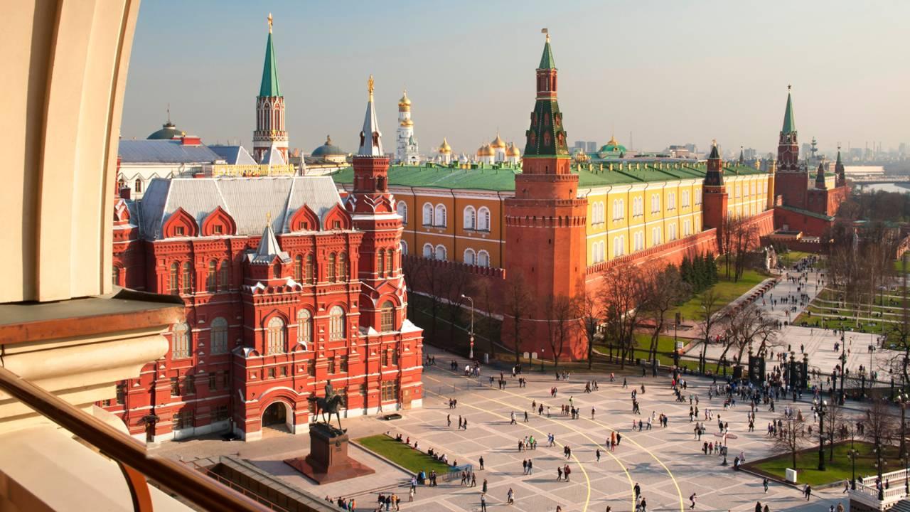 写真提供:モスクワ・ホテル