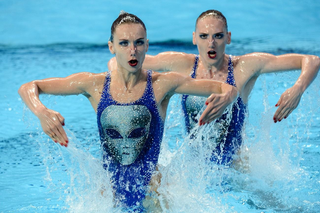 In Russland nennt man sie Meerjungfrauen, weil die beiden mindestens acht Stunden pro Tag im Schwimmbad verbringen. So hieß auch ihr Programm in der freien Kür für Rio.