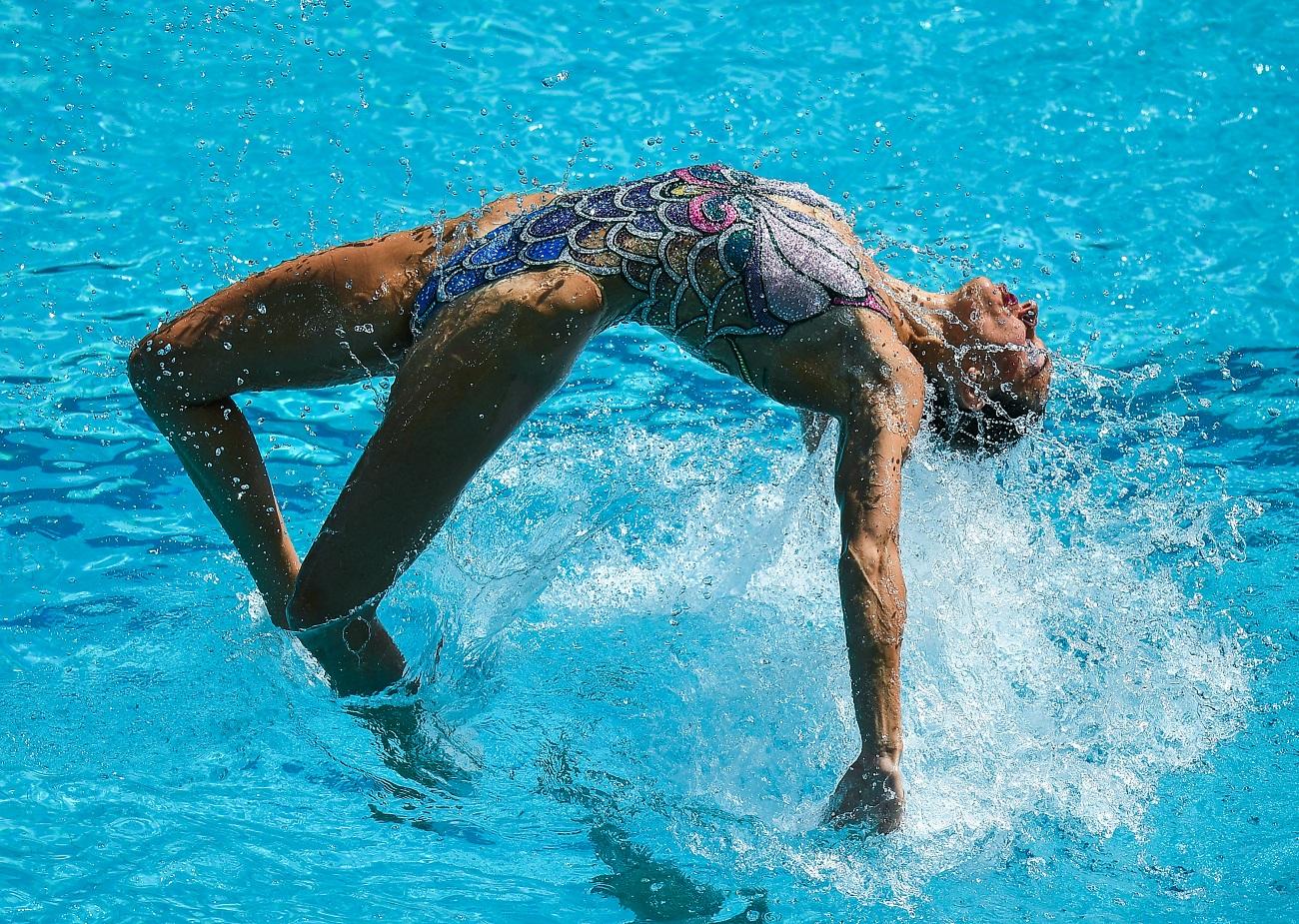 Bei den Olympischen Spielen 2012 in London hatte sich Natalija Romaschina vor dem Start erkältet und musste mit 38 Grad Fieber antreten.