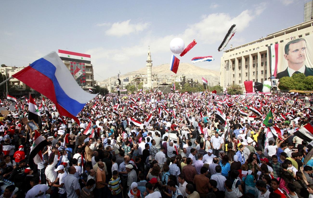 Rússia completa um ano de operações na Síria width=