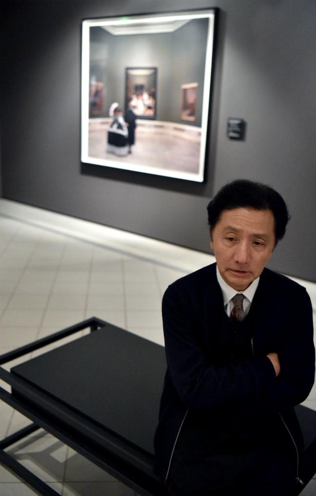 """森村氏はこう述べている。「古典的な画家たちの作品のなかに、私が""""再現""""した作品を並置するとは素晴らしいアイデアです。こんなことができるのはプーシキン美術館だけですね」"""