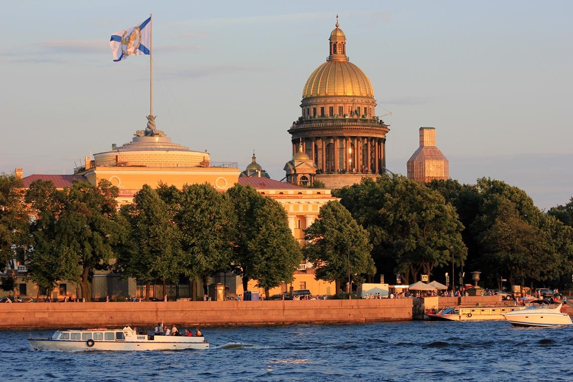 サンクトペテルブルクの景色