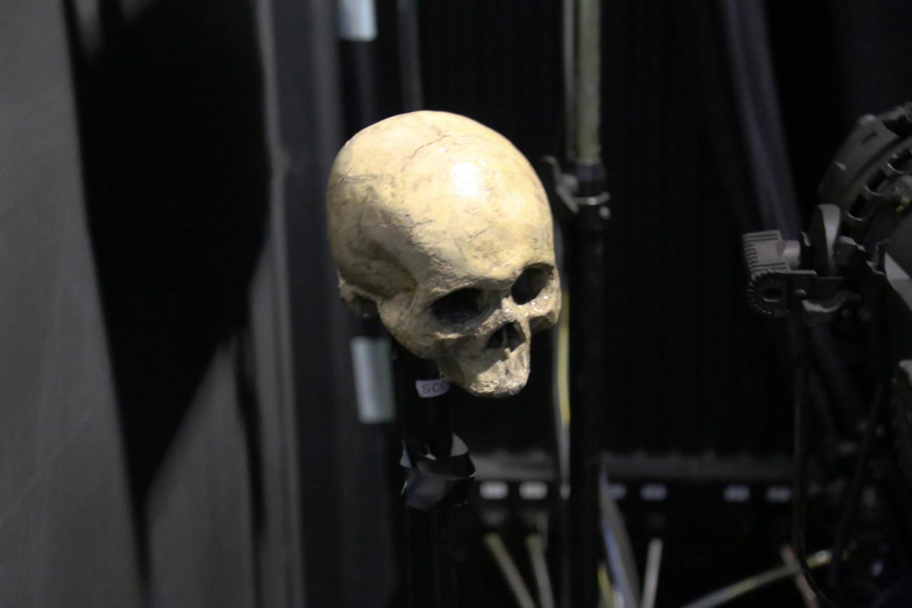 最も現代的な演出の『ハムレット』でさえ、欠かせない小道具がある。髑髏だ。=ナタリア・ススリナ撮影