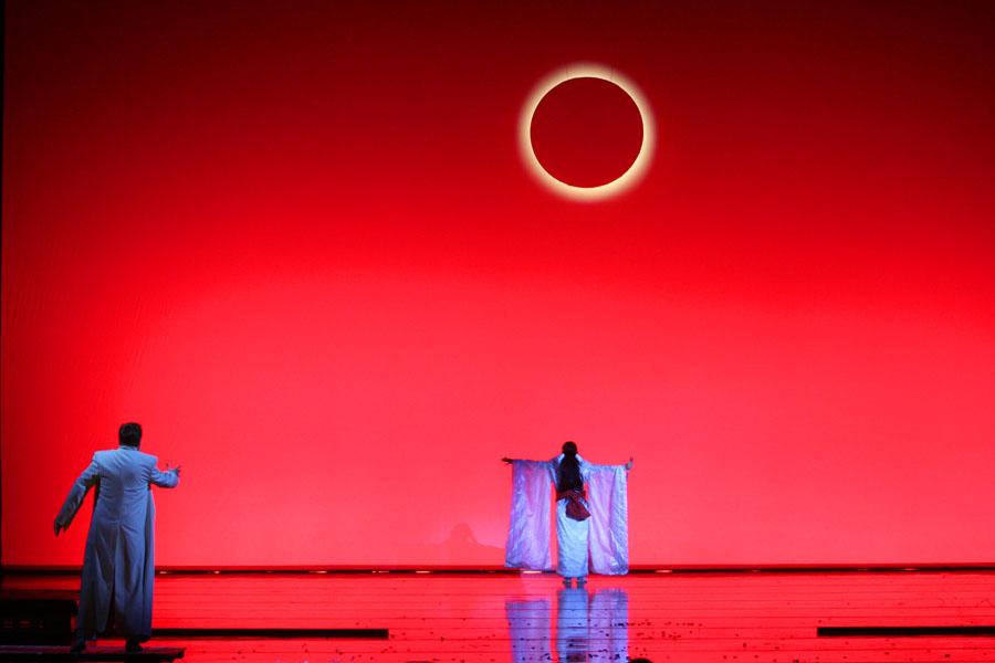 ジャコモ・プッチーニ作曲のオペラ「蝶々夫人」、マリインスキー劇場=