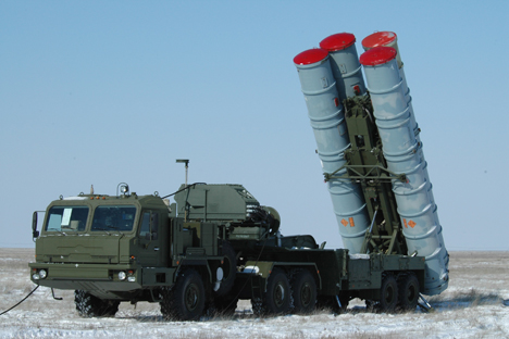 The S-400 Triumf is Russia's next-generation air defense system.