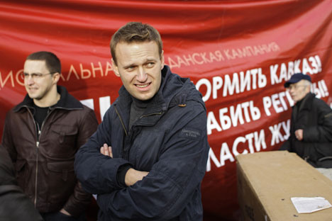 Navalny first voiced his presidential ambitions in a televised interview in April 2013.