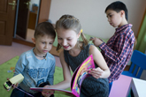 New Moscow centers give parentless children a live-in mother