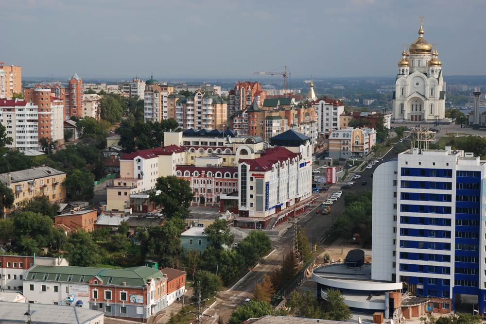 Khabarovsk is one of the biggest cities in the Russian Far East.
