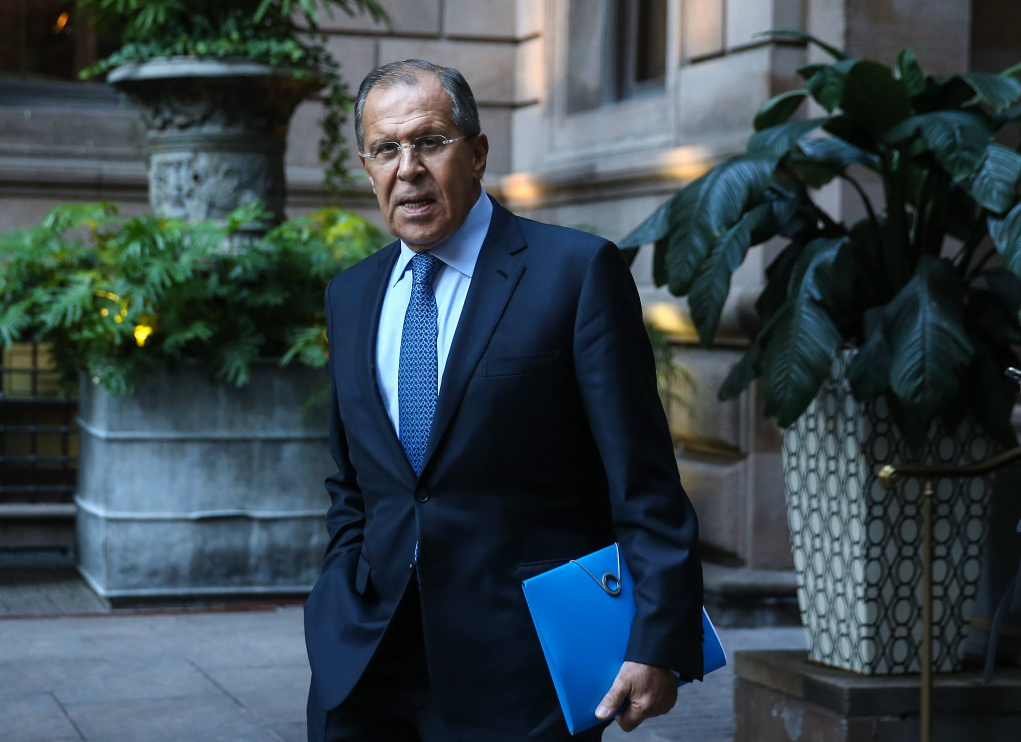 Foreign Minister Sergey Lavrov.