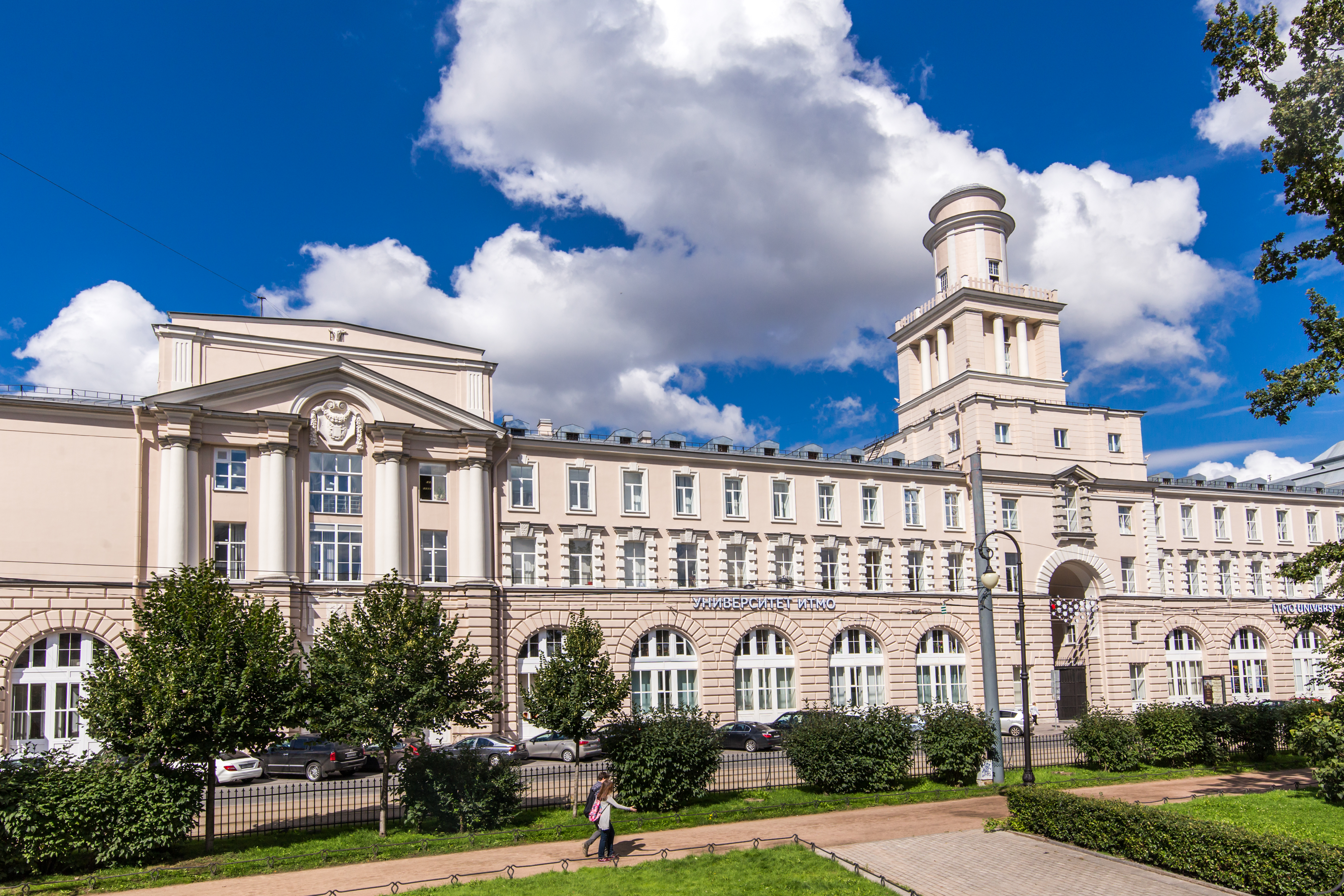 Most Russian universities (9 out of 13) have seen their standings slip in comparison to last year. Photo: ITMO University in Saint Petersburg.