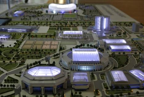 Стадионите за светскиот фудбалски шампионат 2018 ќе бидат изградени навреме. Фото: Владимир Аносов / Росијскаја газета.