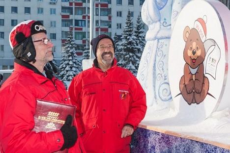 Делегација на комитетот на Меѓународните Детски игри ги провери спортските објекти во Уфа, Фото: Сергеј Словохотов.
