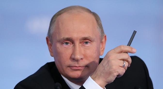 Претседателот на РФ Владимир Путин одржа работен состанок посветен на економските прашања. Извор: ИТАР-ТАСС.