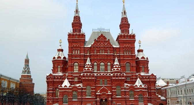 Зградата на Државниот историски музеј (порано тој се нарекувал Императорски руски историски музеј) се појавила на Црвениот плоштад во последната четвртина на 19 век. Извор: Lori / Legion Media.
