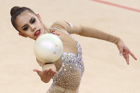 Етапа од Гран-прито по ритмичка гимнастика во Москва. Извор: Олесја Курпјаева.