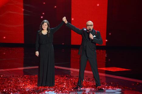 """Годинава Русија на Евровизија ќе ја претставува Дина Гарипова, која го доби прекарот """"руска Адел"""". Извор: Руслан Рошчупкин / РИА Новости."""