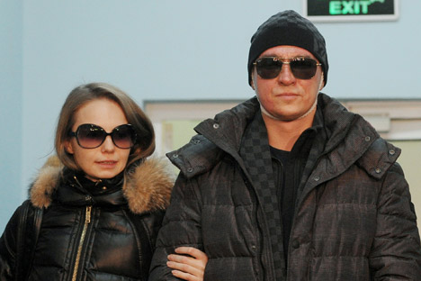 Во јануари лицето на балетмајсторот на Бољшој театар Сергеј Филин му беше изгорено од киселина. Извор: РИА Новости.
