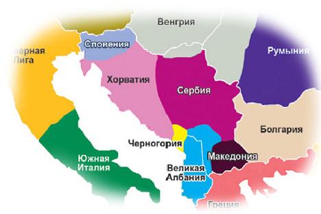 """Детаљ од спорната """"експертска"""" карта од жолтиот печат, со која најголемите македонски медиуми ја разбрануваа јавноста."""