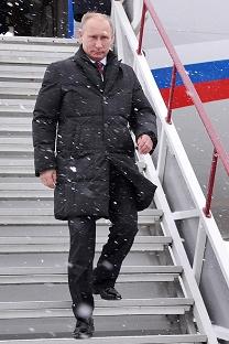 Владимир Путин во посетата на Казањ. Извор: Press Photo.