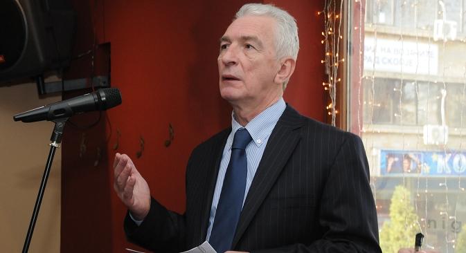 Амбасадорот на Русија во Македонија н.е. Олег Шчербак. Извор: Емил Ниами/Руска реч на македонски.