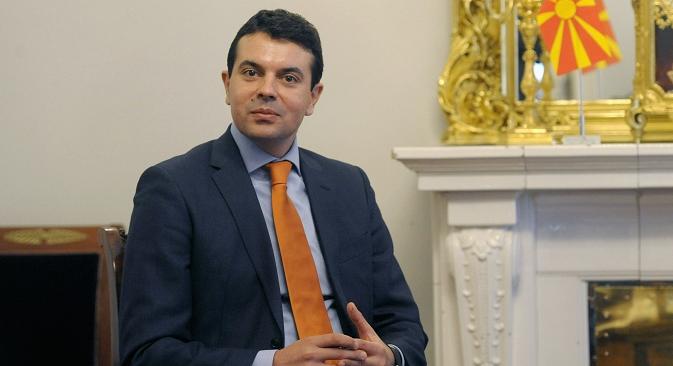 Министерот за надворешни работи на Република Македонија Никола Попоски. Извор: Reuters.