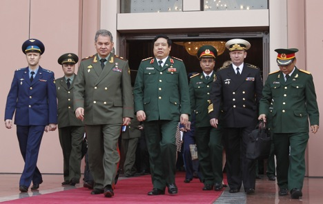 Посетата на Сергеј Шојгу расчисти многу работи во заемните односи помеѓу Русија и Виетнам. Извор: Reuters.
