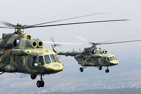 Ми-17 летнаа. Извор: РИА Новости.