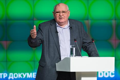 Екс-претседател на СССР Михаил Горбачов. Извор: AP.