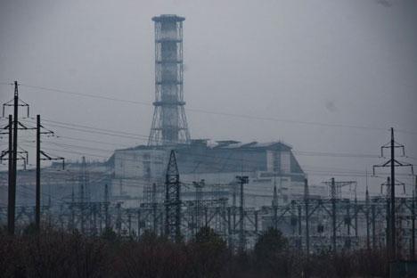 Чернобилската нуклеарна електрана. Извор: Вероника Дорман.