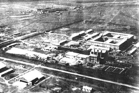 """Тајниот комплекс на """"Одредот 731"""" се состоел од преку сто објекти. Во овие згради Јапонија го подготвувала бактериолошкиот напад врз СССР."""