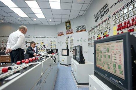 Пулт за управување на Ростовската АЕЦ. Извор: РИА Новости