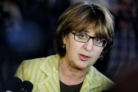 Министерката за надворешни работи на Грузија Маја Панџикиѕе. Извор: ИТАР-ТАСС