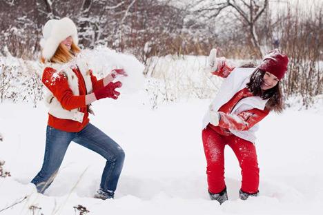 Во Москва зимата трае околу четири месеци и во просек има по 50 дена кога паѓа снег.  Извор: Lori / Fotobank.