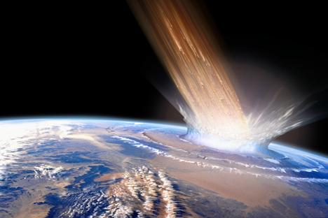 Над Челјабинск, најкрупниот индустриски центар на Урал, кон средината на февруари минатата година експлодираше огромен метеорит. Извор: PhotoXPress.