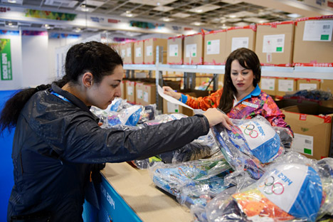 На Олимпијадара во Сочи ќе има многу волонтери од различни земји, не само од Русија. Извор: Михаил Мокрушин / РИА Новости
