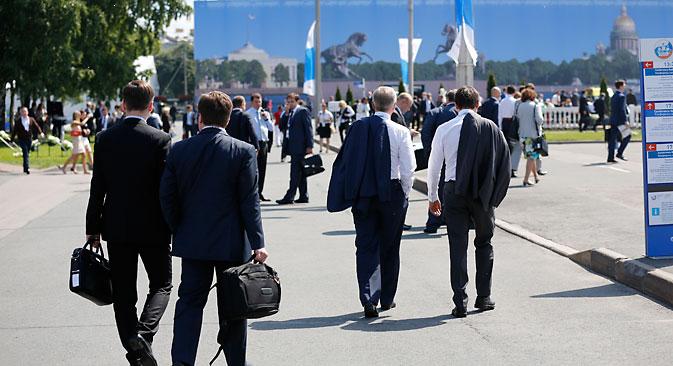 Економскиот форум во Санкт Петербург ќе се одржи од 22 до 24 мај. Архивски извори